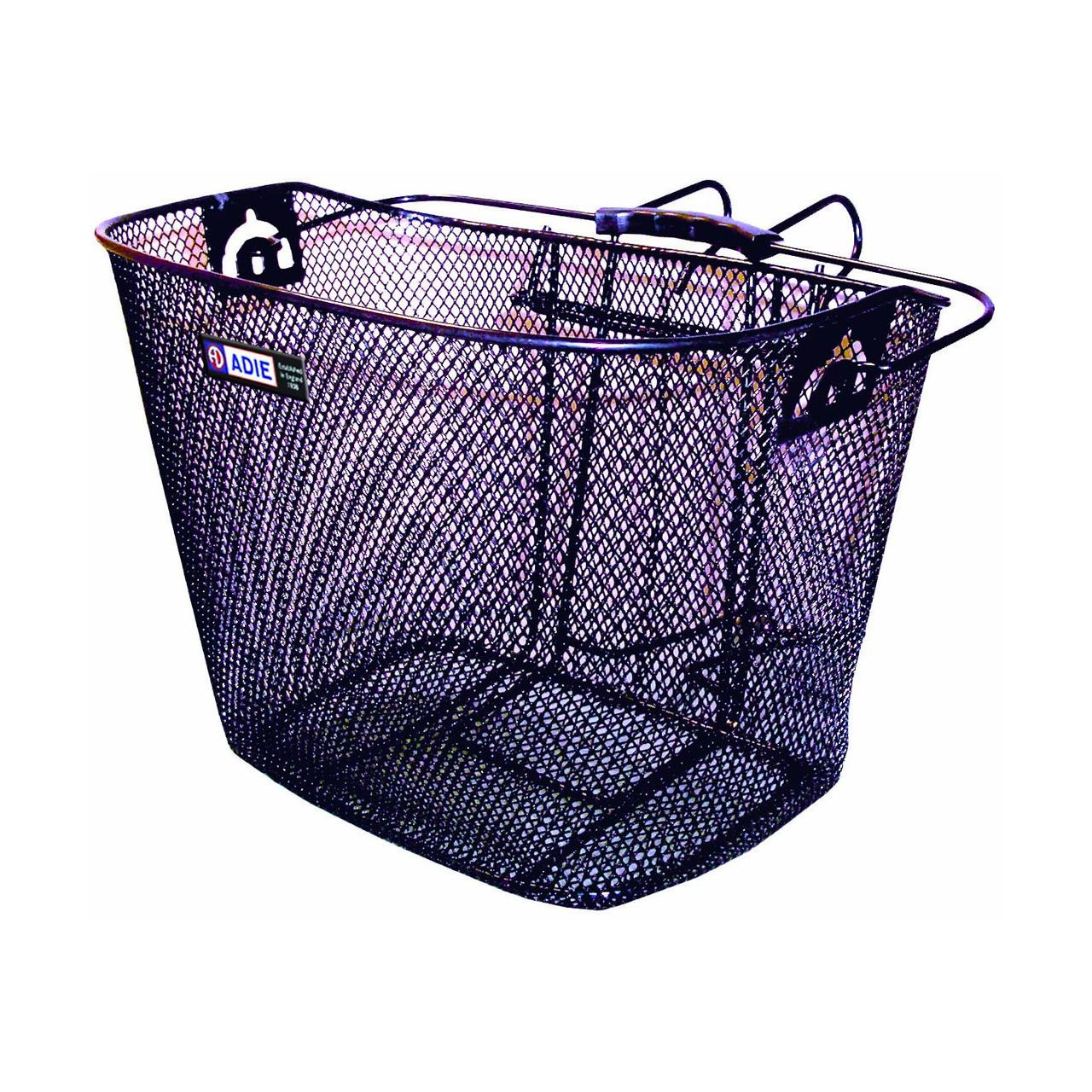 Adie Front Basket Mesh with Metal Bracket (Black)