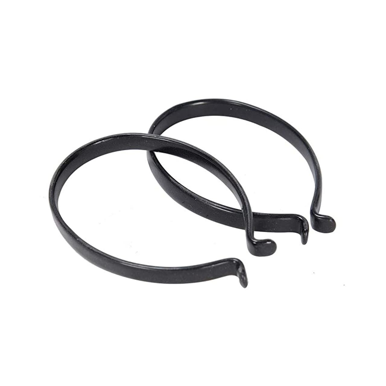 Cycle Trouser Clips (Black Steel)