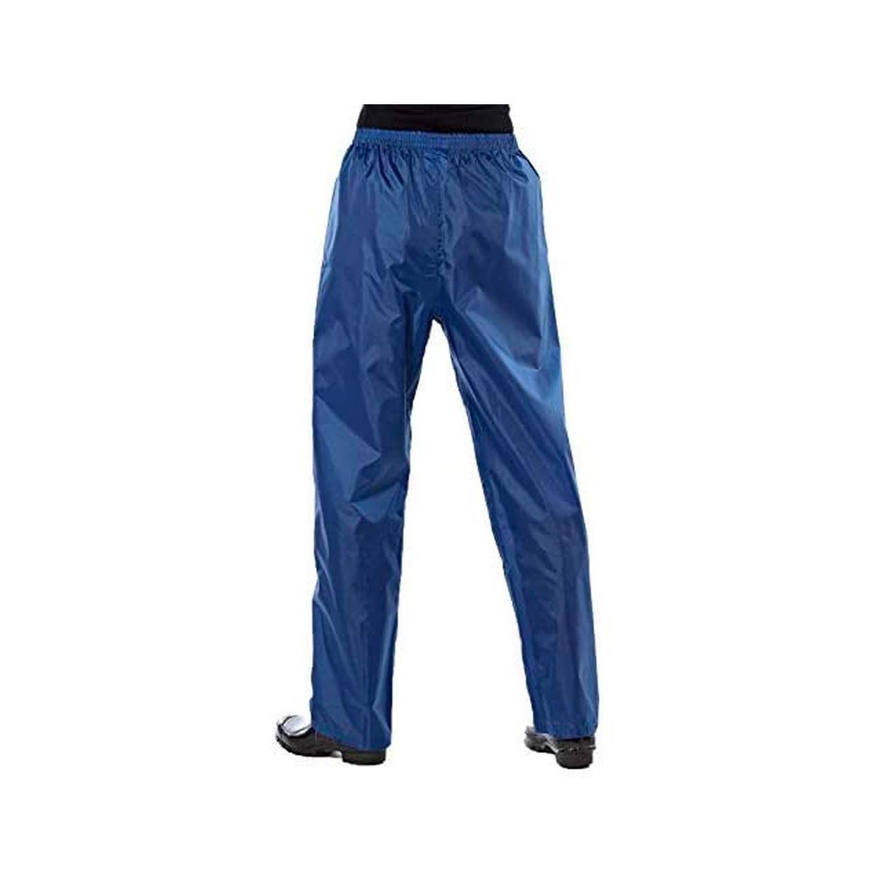 Pro Climate Women's Waterproof Trousers (Blue, Large)