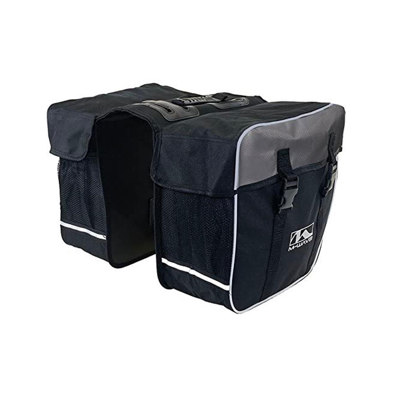 "M-Wave""Day Tripper"" Double Pannier (With Reflective Strips)"