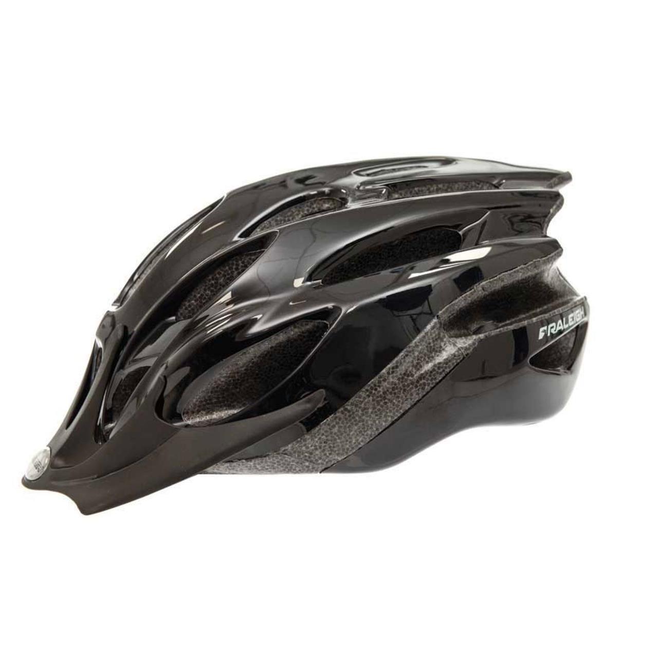 Raleigh Mission Evo Helmet (54-58cm, Black)