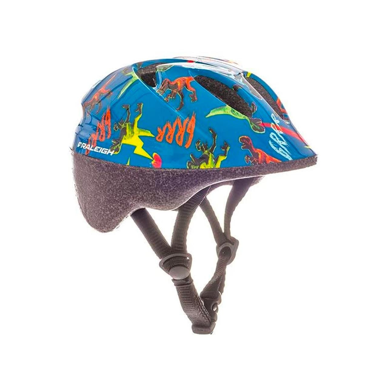 Raleigh Rascal Kids Bike Helmet Dinosaur