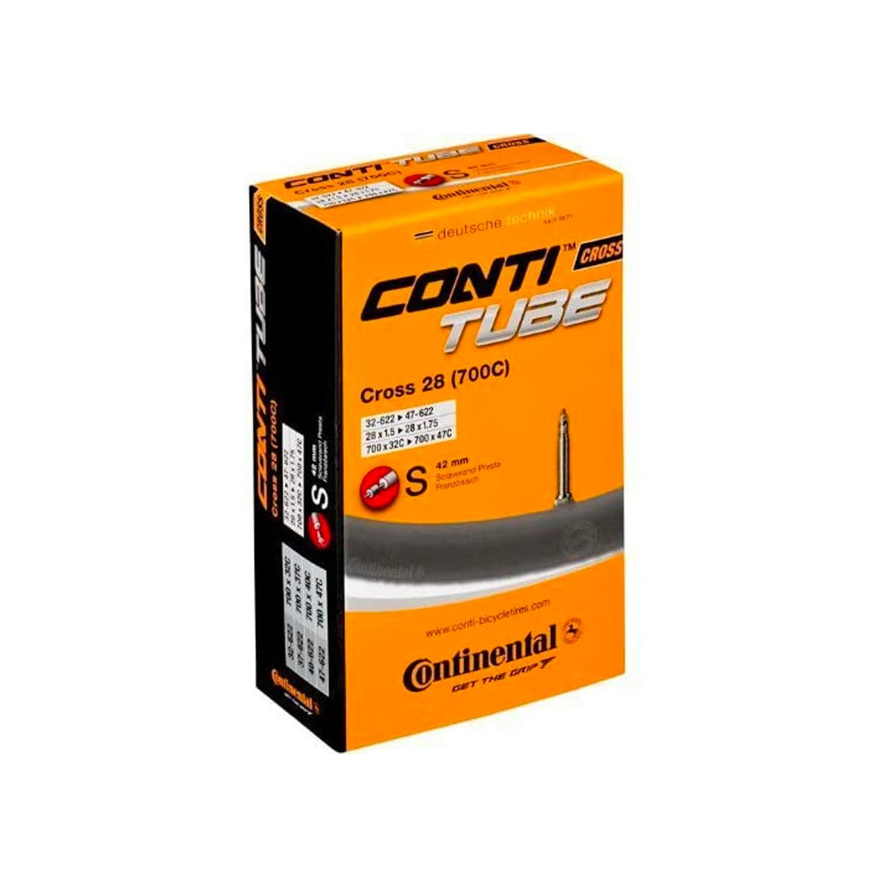Continental Cross 28 Bicycle Inner Tube (32-47-622)