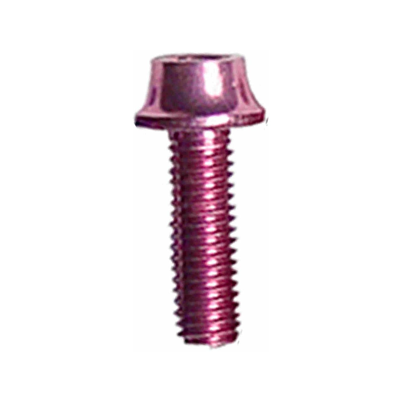 A2Z WB-4 Anodized Water Bottle Cage Bolts (Pink, 4-Piece)