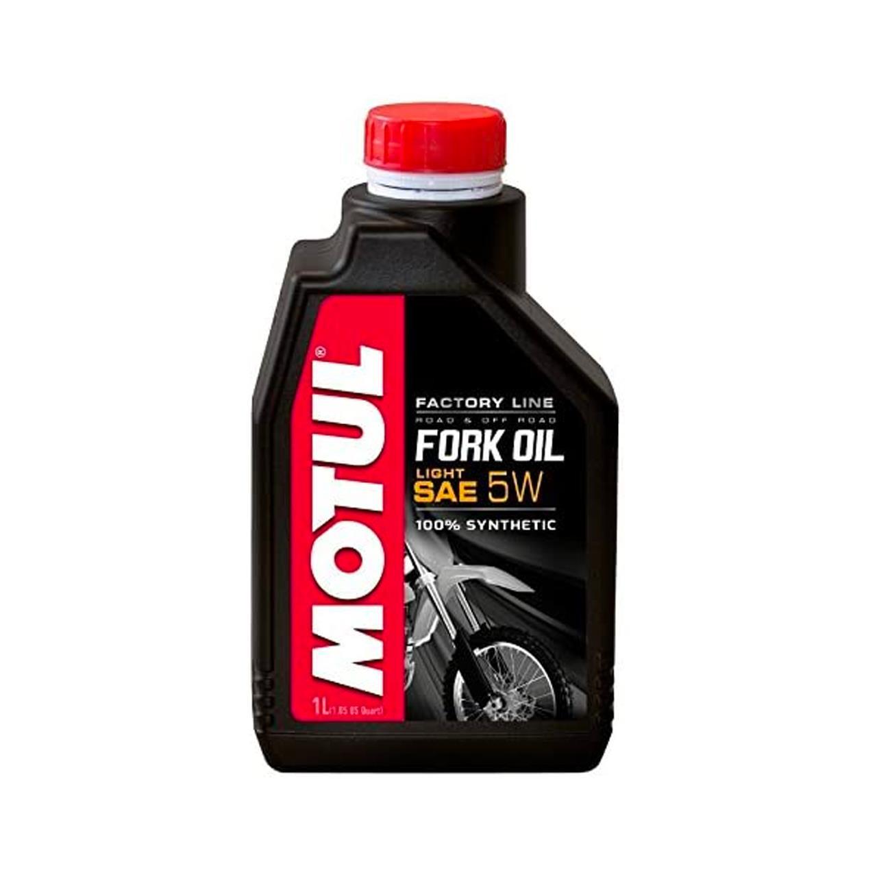 Motul factory Line Light 5W Fork Oil (1 Litre)