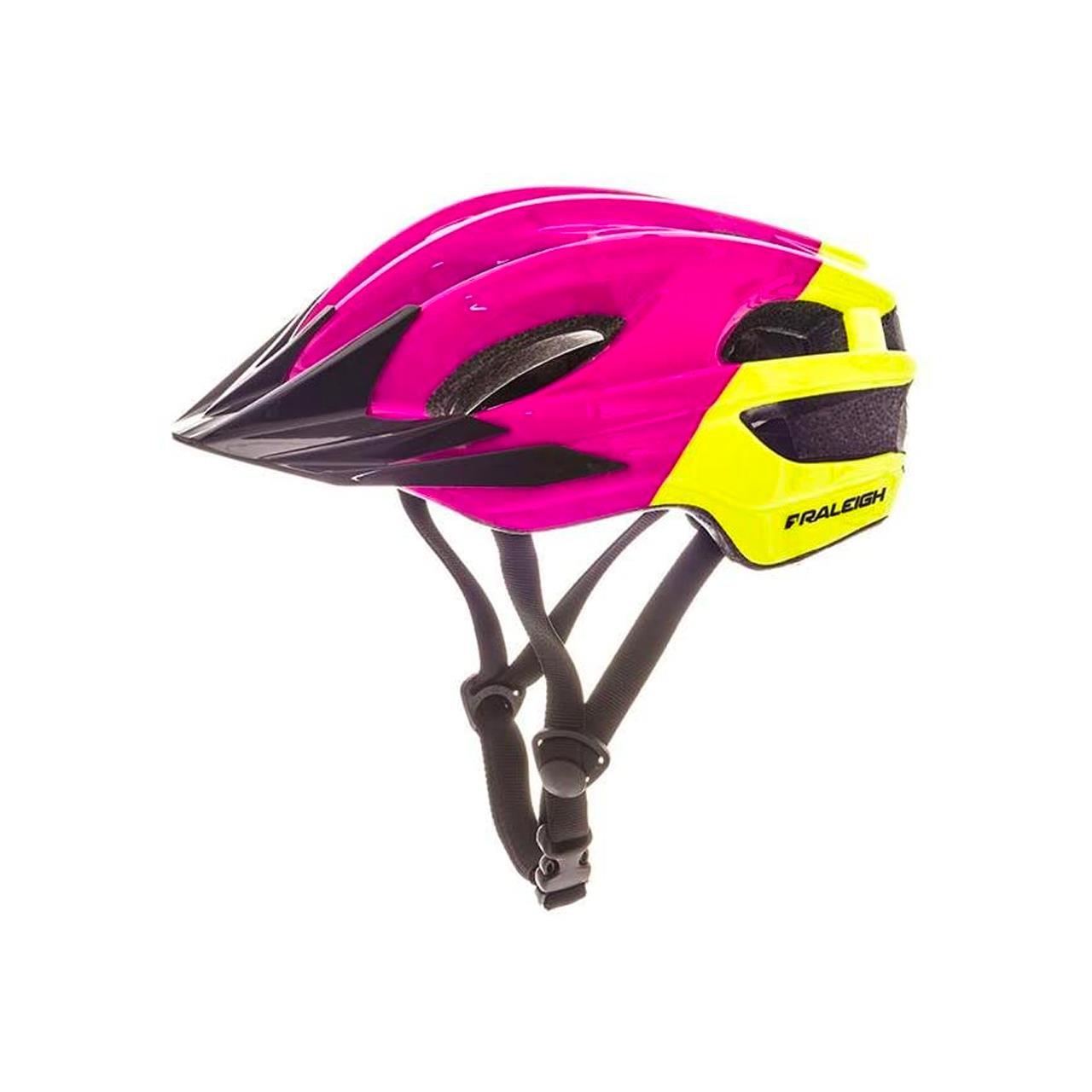 Raleigh Kids' K.O.M. Segment Teen Helmet (Multi-Colour, 48-55 cm)
