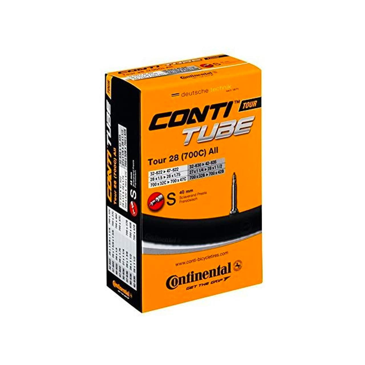 Continental Tour 28 (700 x 32c - 47c, Presta 60mm)