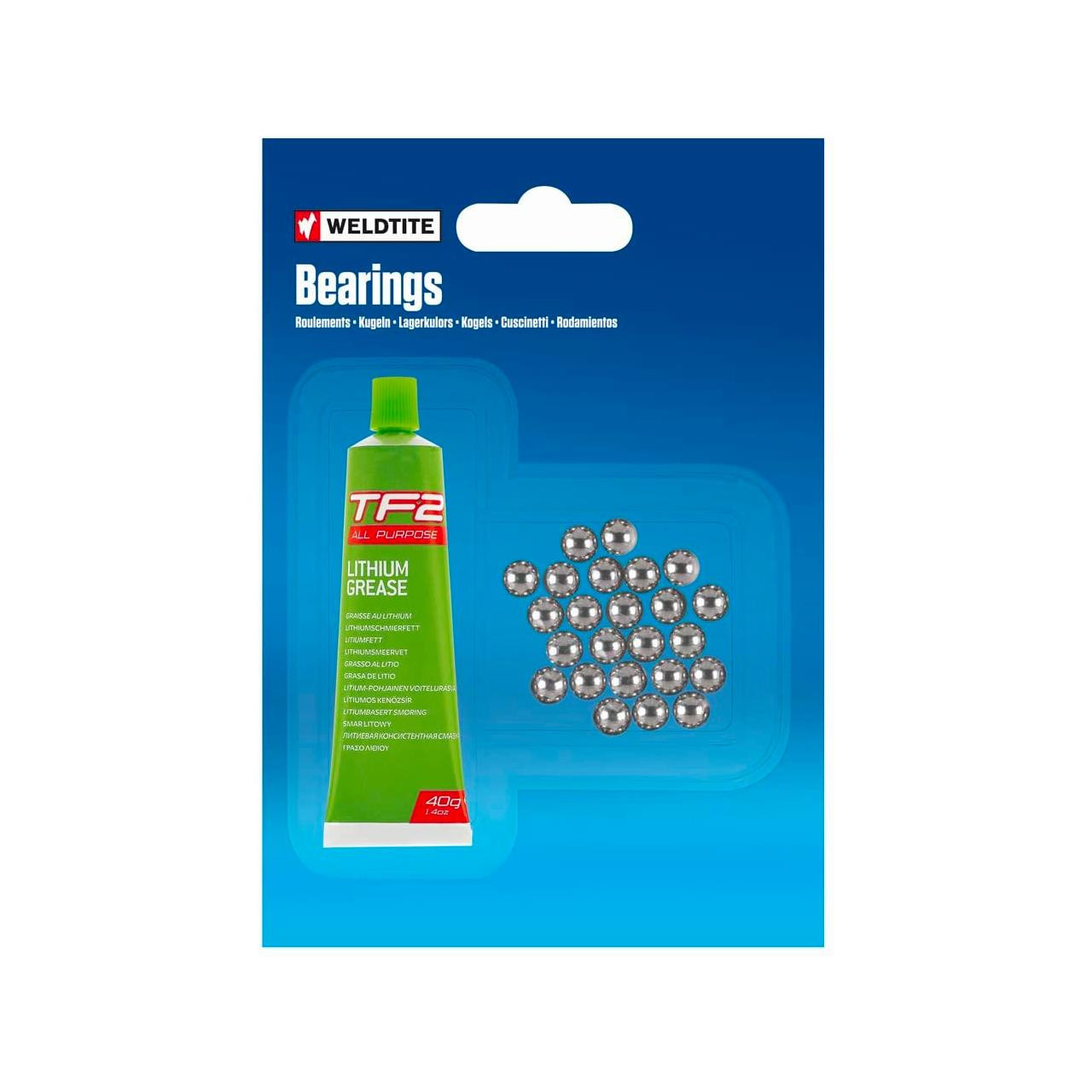 Weldtite Ball Bearings & Grease (7/32)