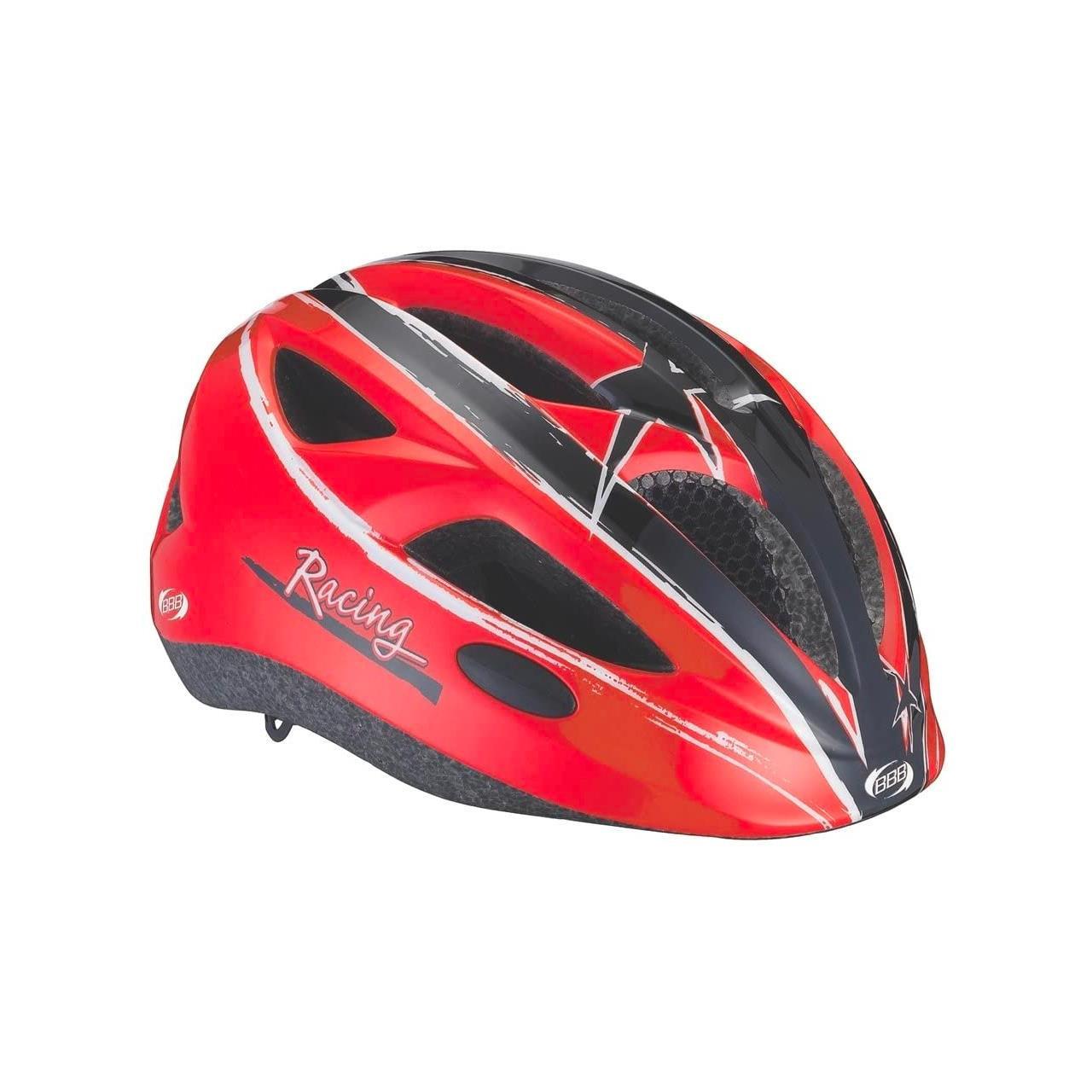 BBB Hero Helmet (Red, Medium, 51-55 cm)