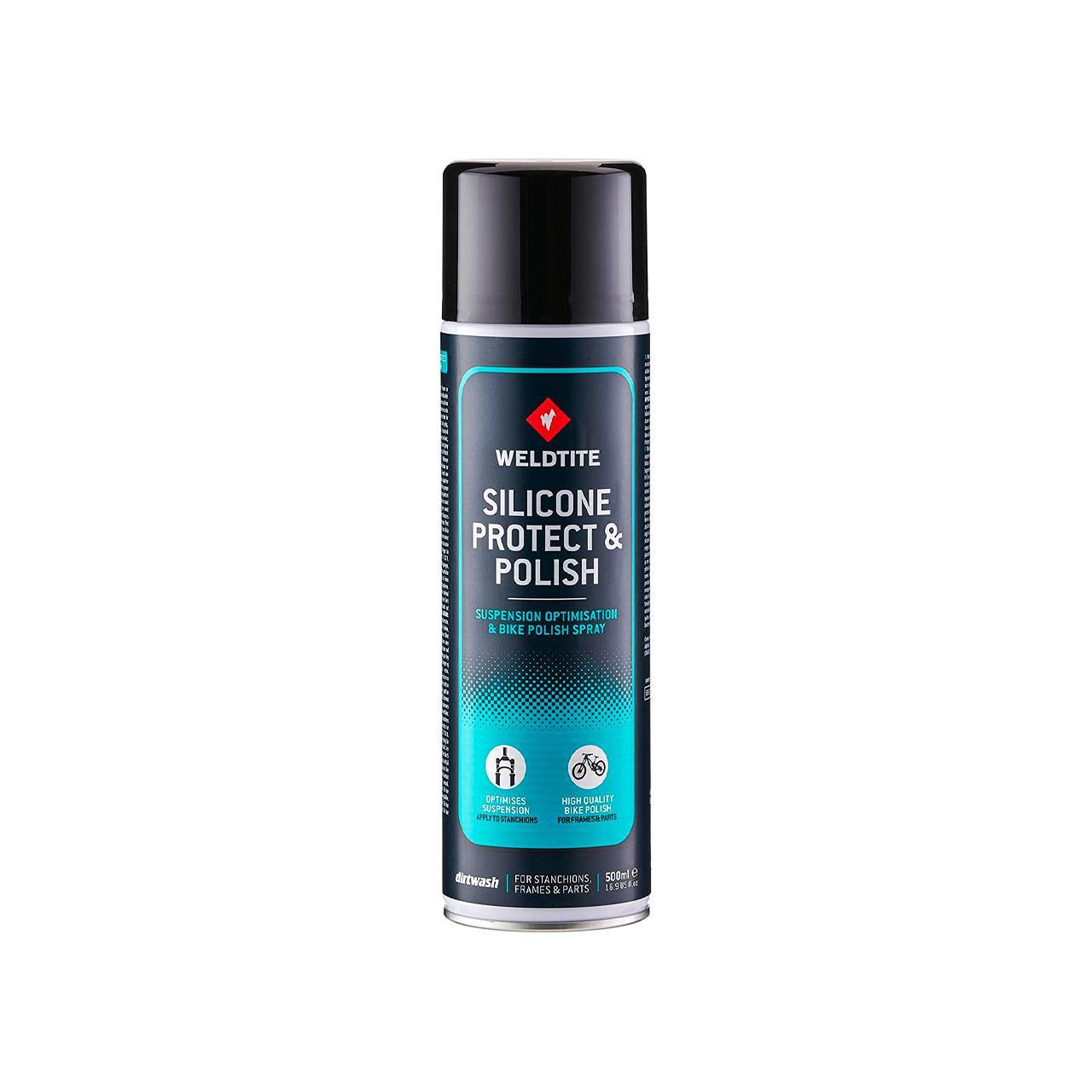 Weldtite Dirtwash Silicone Bike Polish Spray (500 ml)