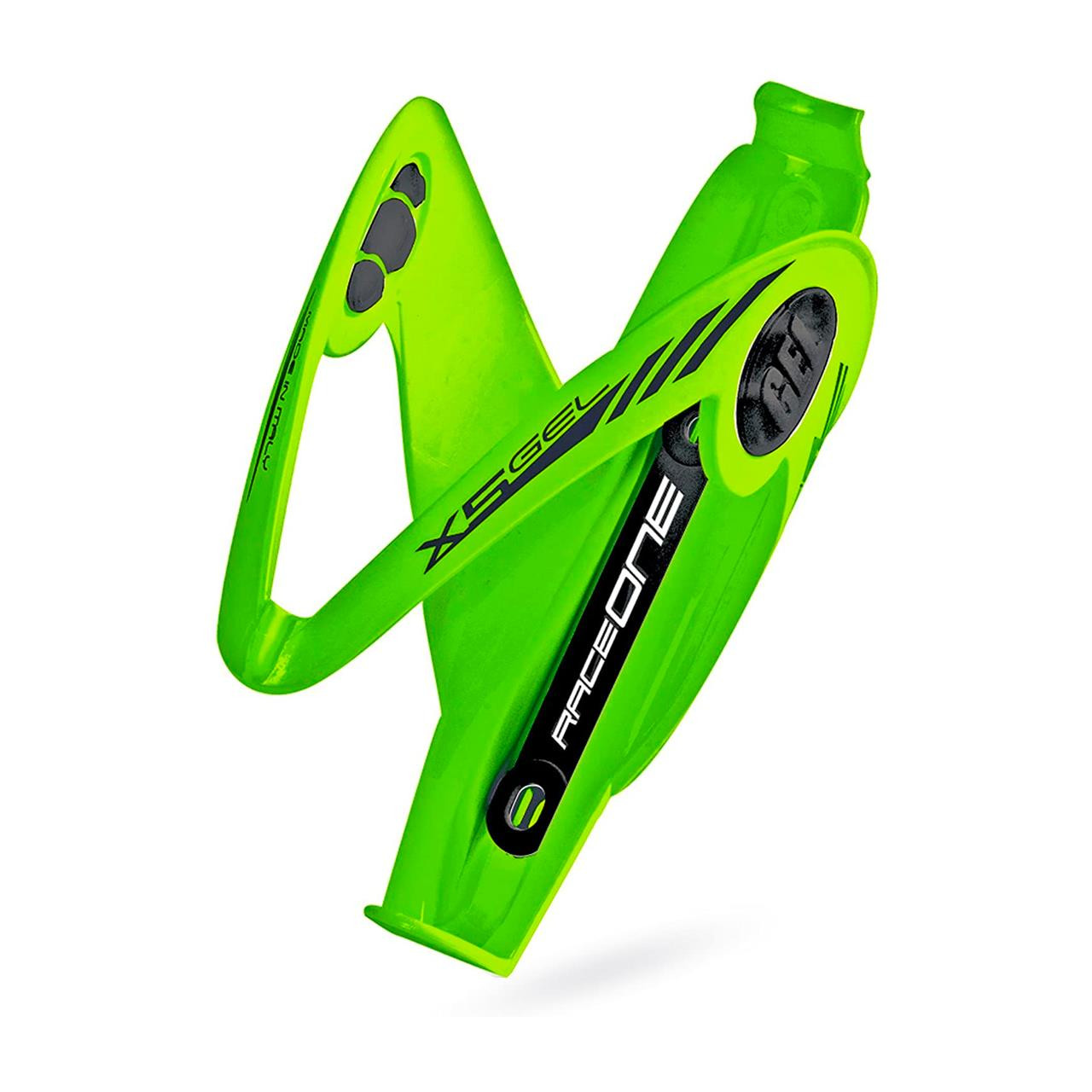 Race One Adult R1 X5 Water Bottle Cage (Green)