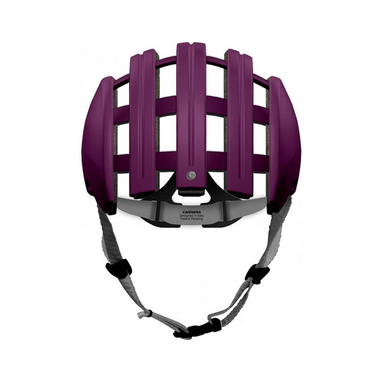 Carrera Foldable Helmet Purple (Medium/Large, 58-61cm)
