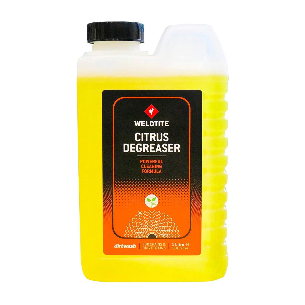 Weldtite Dirt Wash Bike Degreaser (Citrus, 1L)