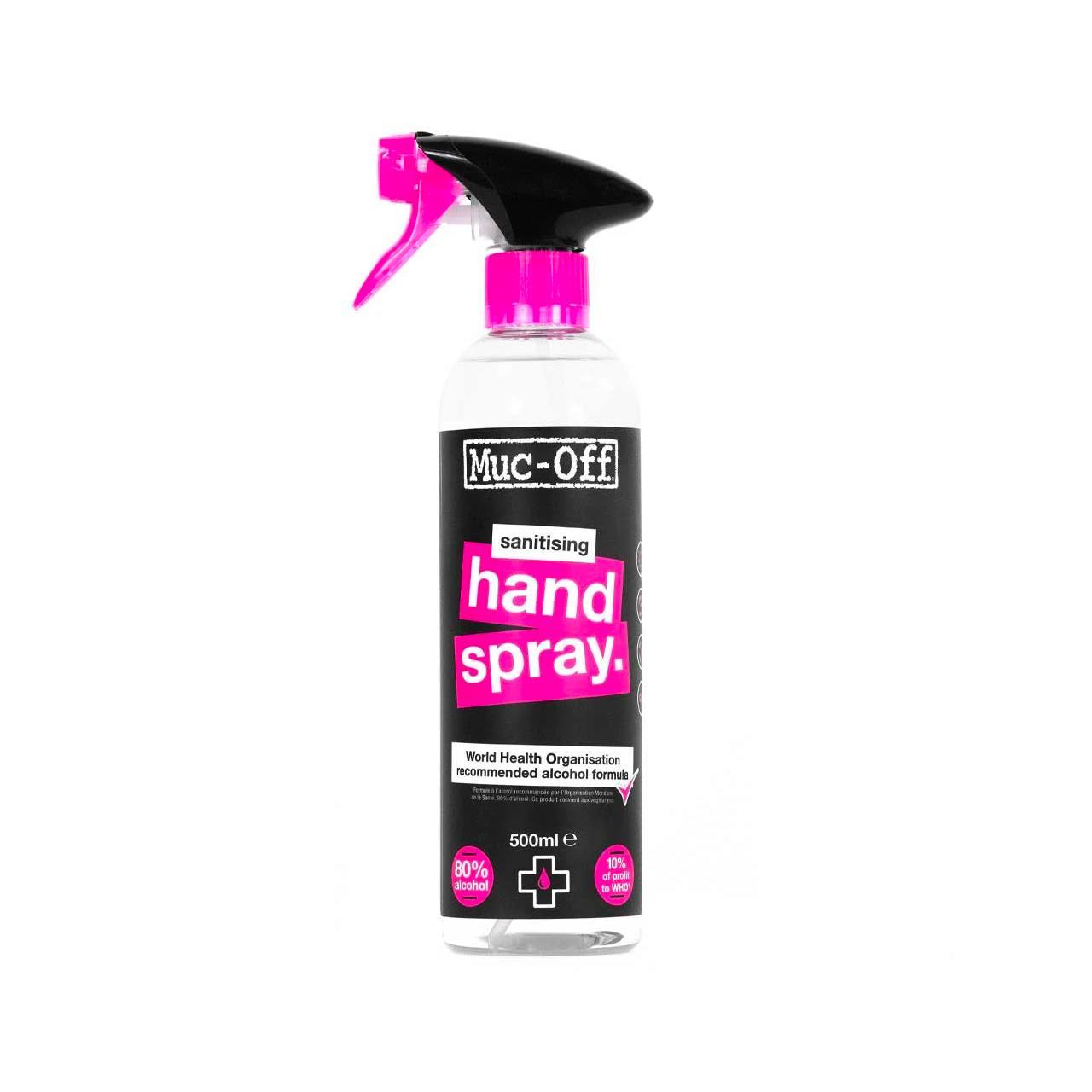 Muc-Off Antibacterial Sanitising Hand Spray (500ml)