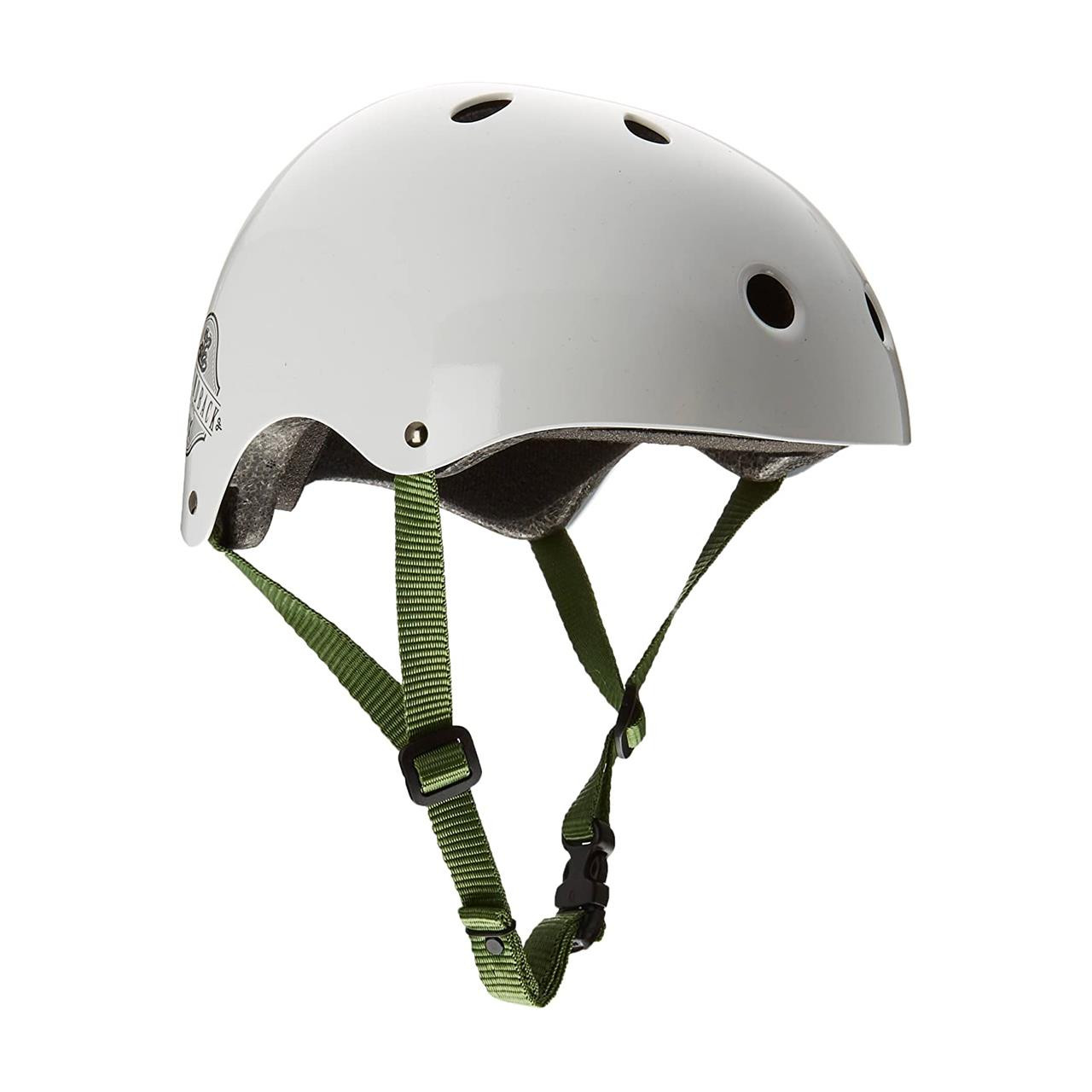 Diamondback BMX Helmet (Gloss White, Large)