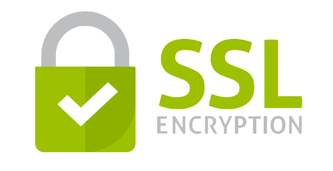 Protected by SSL certificate