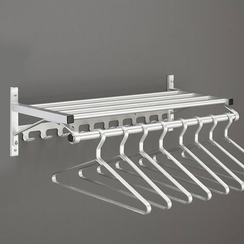 204 Series Modular Wall Coat Rach - Image Illustrates Design, Not to Scale. Hangers Sold Separately.