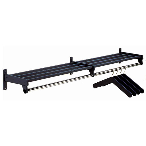 301 Series Coat Rack - Black - Image Illustrates Design, Not to Scale of Final Product
