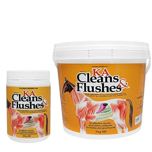 KA Cleans & Flushes
