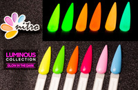 Nitro Luminous Gel - Glow in the Dark - Set of 6
