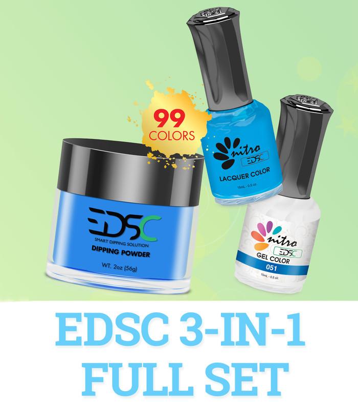 EDSC 3-in-1 Full Set (Powder + Gel + Polish) - 99 Colors