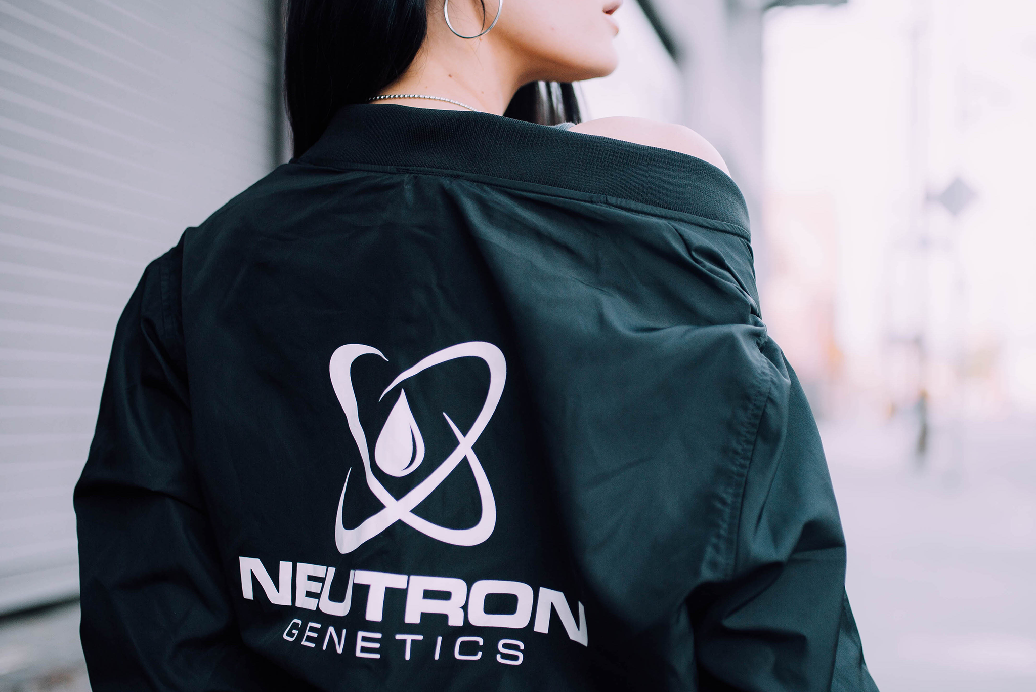neutron genetics bomber jacket