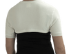 MAXAR Angora Upper Back and Shoulder Warming Support - White