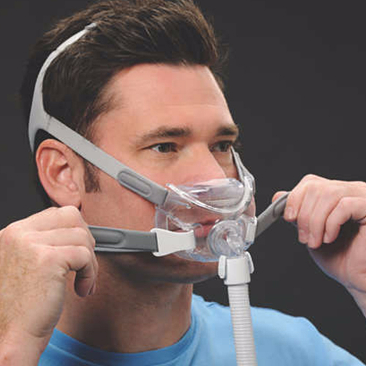 Phillips Respironics Amara View Full Face CPAP Mask with Headgear
