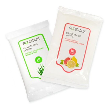 Purdoux CPAP Mask & Tube Cleaning Wipes