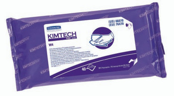 Kimtech Pure W4 Surface Disinfectant Cleaner Wipes, 40 Count NonSterile