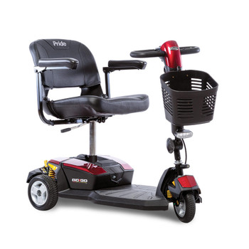 Pride Go-Go LX  3-Wheel Electric Scooter with CTS Suspension