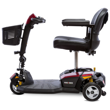 Pride Go-Go LX  4-Wheel Electric Scooter with CTS Suspension