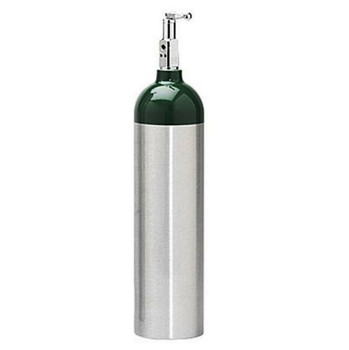 Luxfer Aluminum Oxygen Cylinder D Tank - Certified Pre-owned