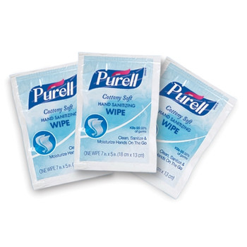Purell Hand Sanitizing Wipe -  1,000 Count Ethyl Alcohol Wipe Individual Packets
