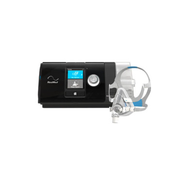 ResMed AirSense 10 AutoSet CPAP Bundle w/ClimateLine Tubing & AirTouch F20