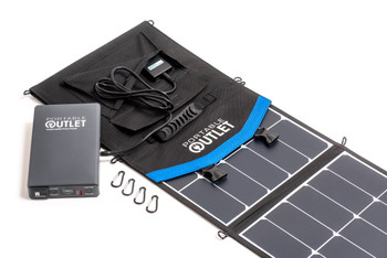 Portable CPAP Battery & Solar Panel Charger
