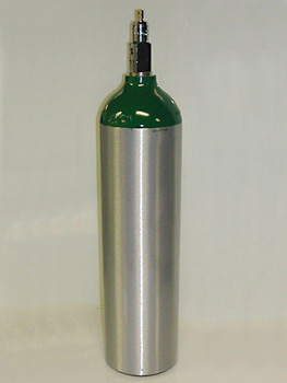Responsive Respiratory M6/B Oxygen Cylinder Tank - Refurbished
