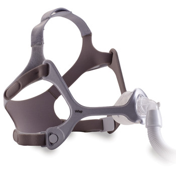 Wisp Nasal Mask with Fabric Frame and Headgear