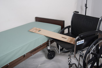 Lifestyle Essentials Bariatric Transfer Board, With Hand Holes
