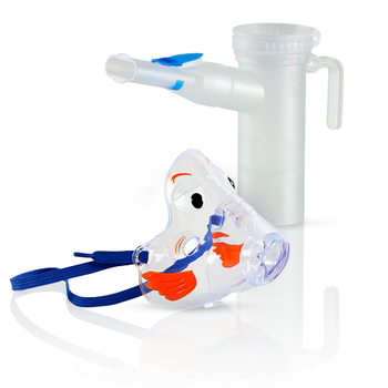 Bubbles the Fish II Pediatric Aerosol Mask with PARI LC