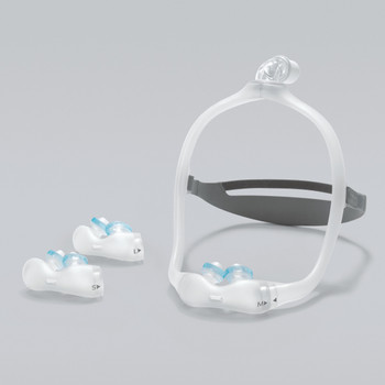 Philips Respironics DreamWear Gel Nasal Pillow Mask with Headgear