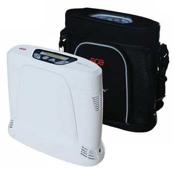 Gas Control Equipment Zen-O Lite One Portable Oxygen Concentrator with Dual Battery