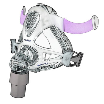 ResMed Quattro FX for Her Full Face Mask System with Headgear