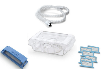 Philips Respironics DreamStation CPAP & BIPAP Heated Replacement Bundle