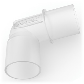 ResMed Tubing Elbow Connector For CPAP & BiLevel Machines (37394)