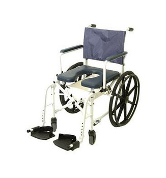 "Mariner Rehab Shower Commode Chair with 18"" Seat"
