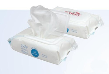 Sunset HCS CPAP Cleaning Wipes