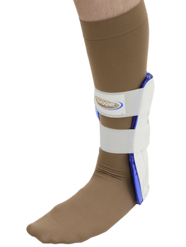 MAXAR Gel/Air Ankle Guard - White
