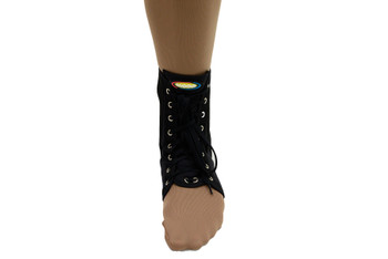 MAXAR Canvas Ankle Brace (with laces) - Black