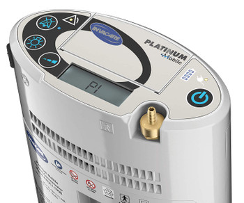 Invacare Platinum Mobile Oxygen Concentrator with One Battery